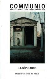 REVUE COMMUNIO N.118 ; la sépulture - Couverture - Format classique