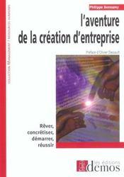 Aventure De La Creation D'Entreprise - Intérieur - Format classique