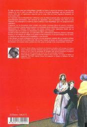 Les fous de la republique - 4ème de couverture - Format classique