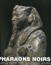 Pharaons noirs ; sur la piste des quarante jours - Couverture - Format classique