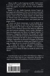 Adolfo Kaminsky, une vie de faussaire - 4ème de couverture - Format classique