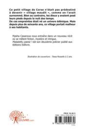 Maladettu Paese ! - 4ème de couverture - Format classique