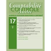 Revue Comptabilite T.17 Vol2 Controle Audit - Couverture - Format classique