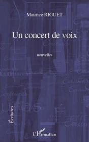 Concert de voix - Couverture - Format classique