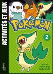 Pokemon ; Pokémon ; Jeux Et Activités T.2 ; Vipélierre - Couverture - Format classique