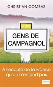 Gens de Campagnol - Couverture - Format classique