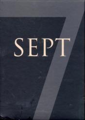 Sept ; coffret t.1 à t.7 - Couverture - Format classique