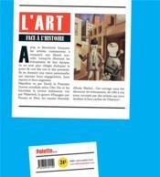 L'art face a l'histoire ; 50 événements vus par les artistes - 4ème de couverture - Format classique