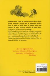Monsieur Kipu - 4ème de couverture - Format classique