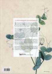 La botanique - 4ème de couverture - Format classique