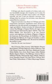 L'afrique qui vient - 4ème de couverture - Format classique