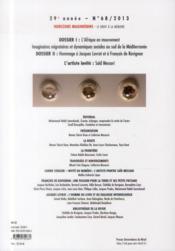 Revue Horizons Maghrebins N.68 ; L'Afrique En Mouvement ; Hommage A Jacques Levrat Et A François De Ravignan - 4ème de couverture - Format classique