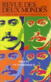 Revue Des Deux Mondes ; Proust Vu D'Amérique - Couverture - Format classique