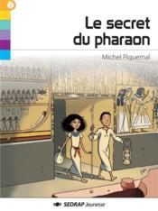 Le secret du pharaon - Couverture - Format classique