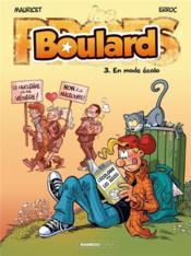 Boulard T.3 ; en mode écolo - Couverture - Format classique