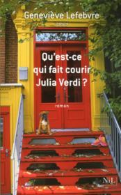 Qu'est-ce qui fait courir Julia Verdi ? - Couverture - Format classique