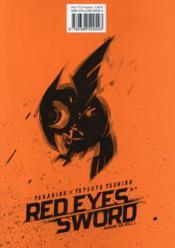 Red eyes sword - Akame ga Kill T.5 - 4ème de couverture - Format classique