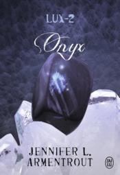 Lux t.2 ; onyx - Couverture - Format classique