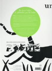 Une souris verte - 4ème de couverture - Format classique