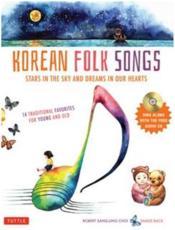 Korean folk songs - Couverture - Format classique