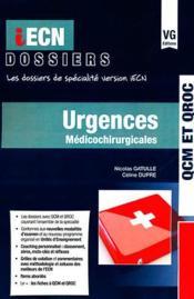 Iecn Dossier Urgences - Couverture - Format classique