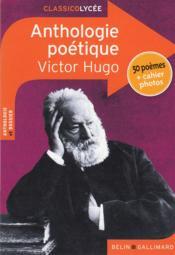 Anthologie poétique, de Victor Hugo - Couverture - Format classique