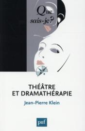 Théâtre et dramathérapie - Couverture - Format classique