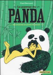 La paresse du panda ; une aventure de Jeanne Picquigny - Couverture - Format classique