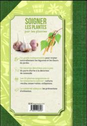 Soigner les plantes par les plantes ; le goût du naturel - 4ème de couverture - Format classique