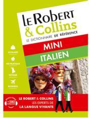 LE ROBERT & COLLINS ; MINI ; dictionnaire italien (édition 2016) - Couverture - Format classique