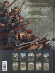 14-18 T.5 ; le colosse d'ébène (février 1916) - 4ème de couverture - Format classique