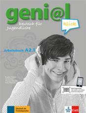 Geni@l klick ; allemand ; A1-A2.1 - Couverture - Format classique