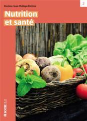 Nutrition et santé - Couverture - Format classique
