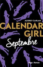 Calendar girl T.9 ; septembre - Couverture - Format classique