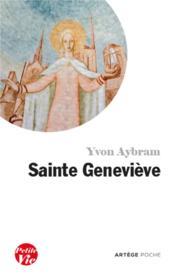 Petite vie de Sainte Geneviève - Couverture - Format classique