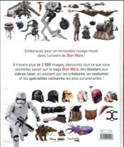 L'encyclopédie visuelle Star Wars - 4ème de couverture - Format classique