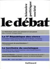 Revue Le Débat N.79 ; mars-avril 1994 - Couverture - Format classique