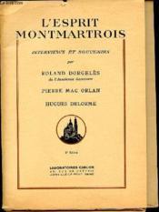 L'Esprit Montmartois - Couverture - Format classique