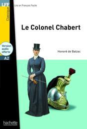 LFF A2 : le colonel chabert - Couverture - Format classique