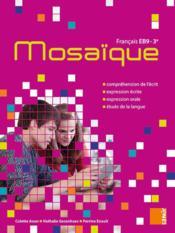 Manuel EB9 ; mosaïque - Couverture - Format classique