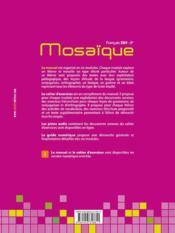 Manuel EB9 ; mosaïque - 4ème de couverture - Format classique