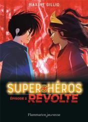 Lego DC comics - super heroes ; révolte - Couverture - Format classique