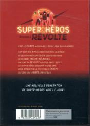 Lego DC comics - super heroes ; révolte - 4ème de couverture - Format classique