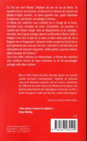 Le musée des redditions sans condition - 4ème de couverture - Format classique