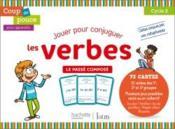 Coup de pouce pour apprendre ; jouer pour conjuguer les verbes ; le passé composé (édition 2020) - Couverture - Format classique