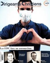 Dirigeants chrétiens N.101 ; mai - juin 2020 ; les EDC face au coronavirus - Couverture - Format classique