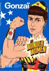 Gonzai n 35 - les wonder women - automne 2020 - Couverture - Format classique