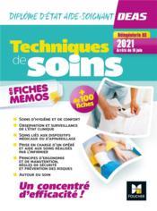 Techniques de soins en fiches mémos ; DEAS (4e édition) - Couverture - Format classique