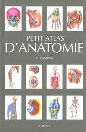 Petit atlas d'anatomie - Intérieur - Format classique