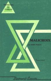 Malicroix-Parcours De Lecture - Couverture - Format classique
